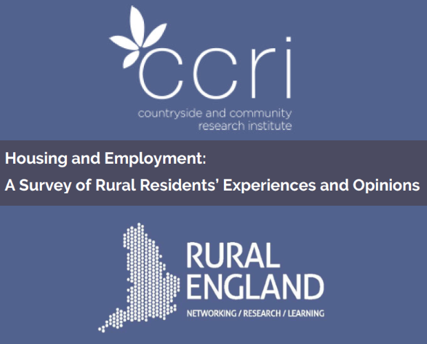 Housing and Employment: A Survey of Rural Residents' Experiences and Opinions