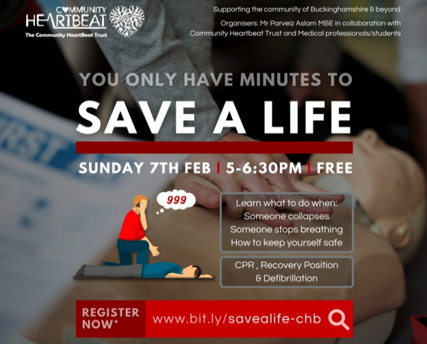 You Have Minutes To Save A Life - Free Training Session