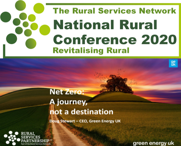 The National Rural Conference 2020 Feature - Net Zero; A journey not a destination