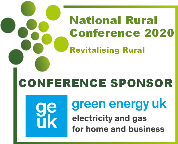 The National Rural Conference 2020 Conference Sponsor - Green Energy UK