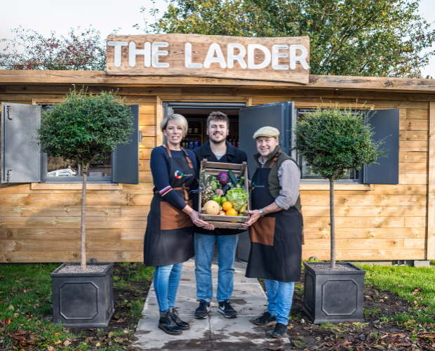 Pub converts shipping container into shop for Longburton residents