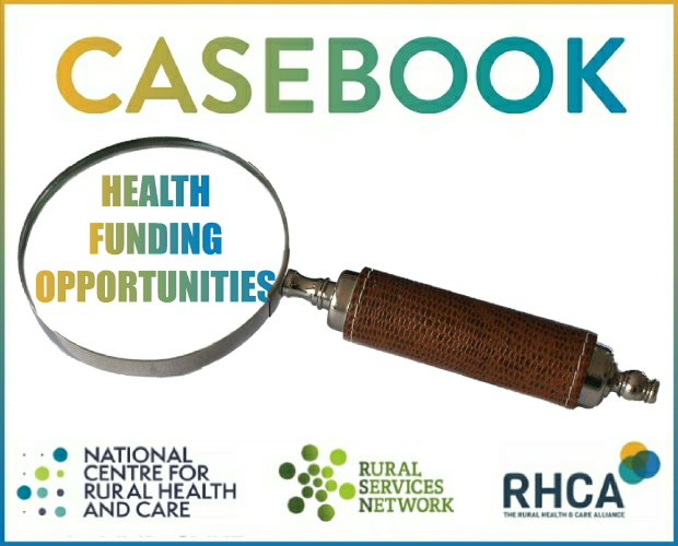 April Edition of Casebook - Health Funding Opportunities from the Rural Health and Care Alliance