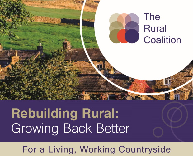 Call for Government to level-up rural areas to support England's economic recovery from COVID-19