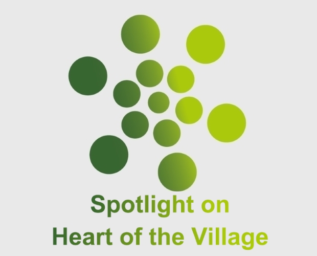 Spotlight on heart of the village