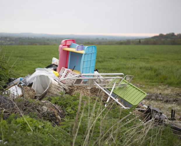 Rural fly-tipping issue raised amid UK's new lockdown