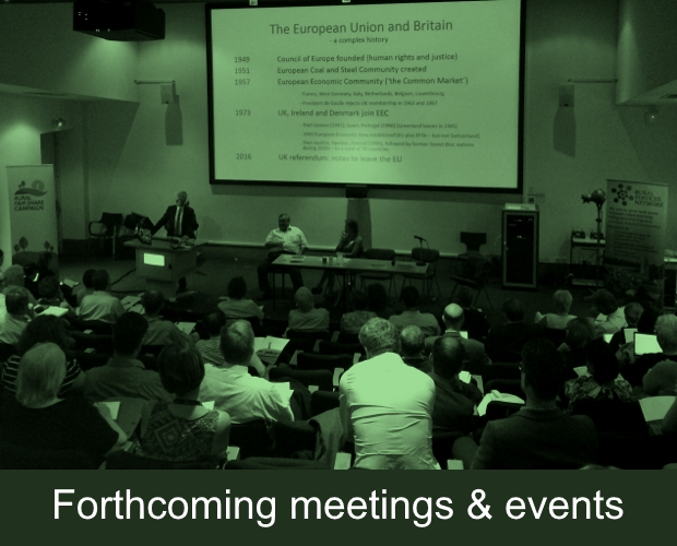Future Meetings and Events