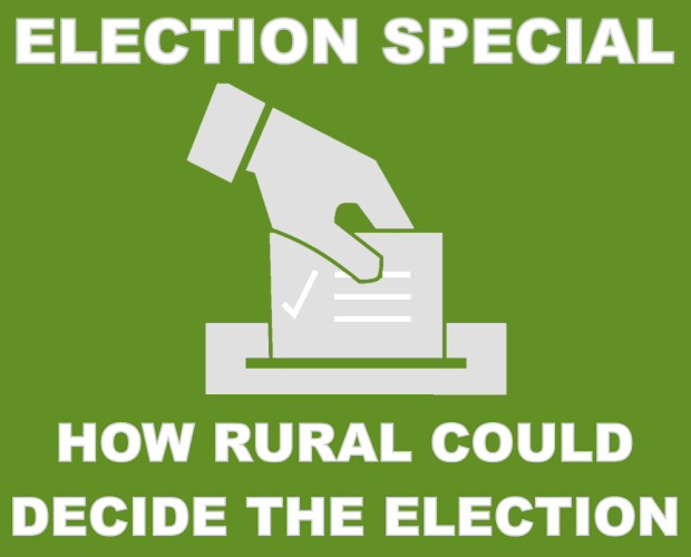 How rural could decide the election