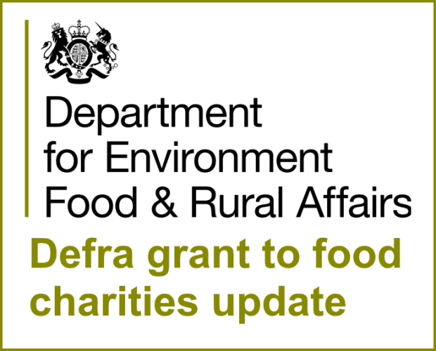 Defra grant to food charities update