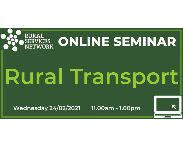 RSN Seminar: Rural Transport