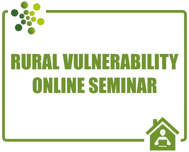 RSN Seminar: Rural Vulnerability - October 2020