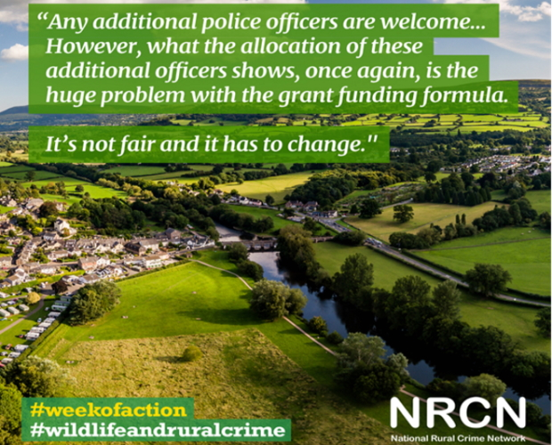Fairer police officer recruitment required for rural areas