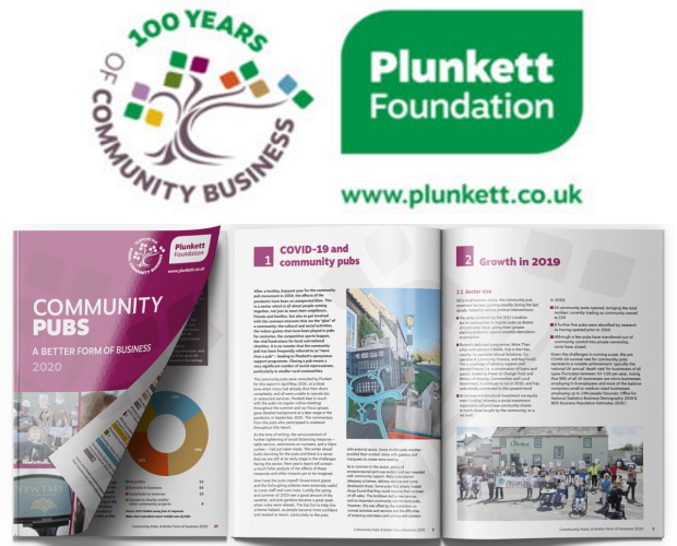 Plunkett releases key reports into community pubs and shops