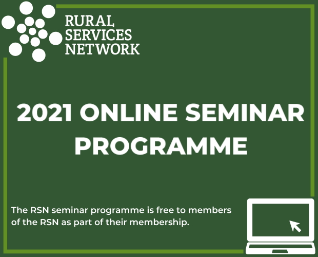 Launch of the 2021 RSN Seminar Programme
