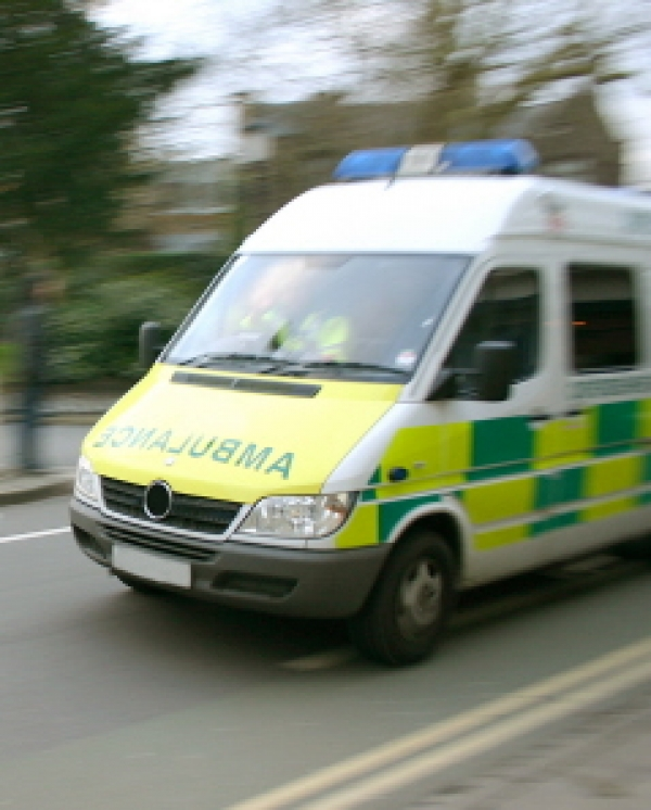 Slower response times for ambulances